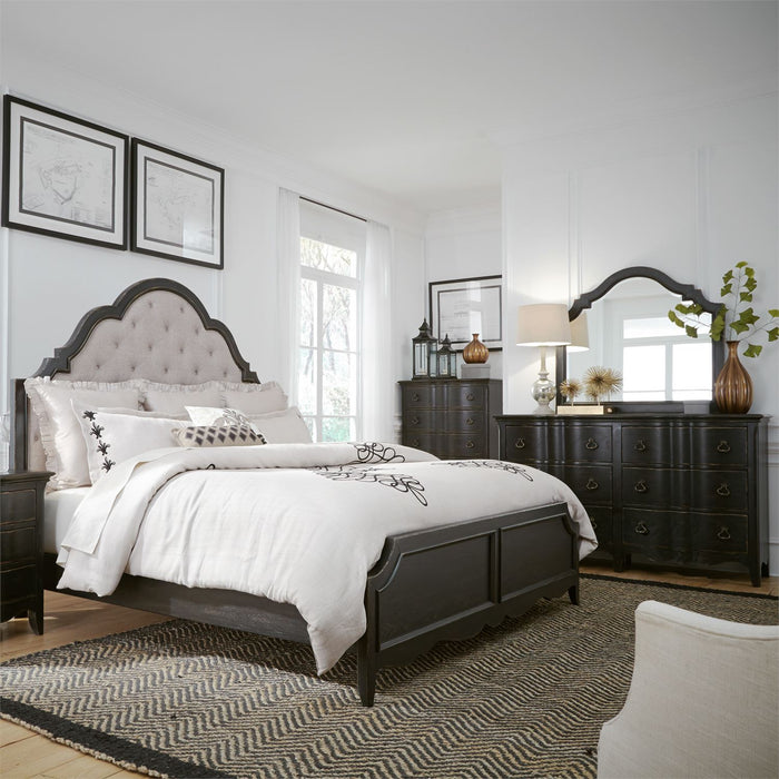 Liberty Furniture | Bedroom King Uph 4 Piece Bedroom Set in New Jersey, NJ 4654
