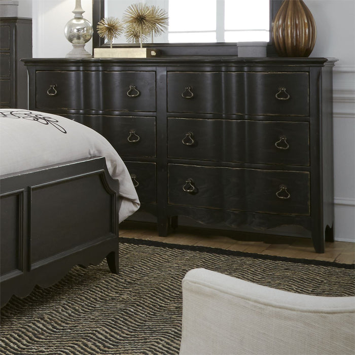 Liberty Furniture | Bedroom Dresser & Mirror in Charlottesville, Virginia 4480
