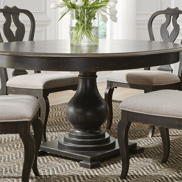 Liberty Furniture | Pedestal Table Set in Charlottesville, Virginia 3617