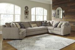 Ashley Furniture | Living Room 4 Piece Sectional With Left Cuddler in Pennsylvania 7437