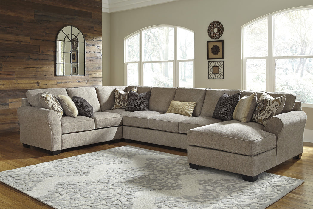 Ashley Furniture | Living Room 4 Piece Sectional With Right Chaise in Pennsylvania 7444