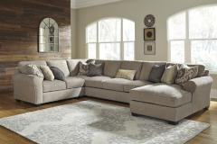 Ashley Furniture | Living Room 4 Piece Sectional With Right Chaise in Pennsylvania 7443