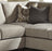 Pantomine Stationary Living Room 4 Piece Sectional With Right Chaise