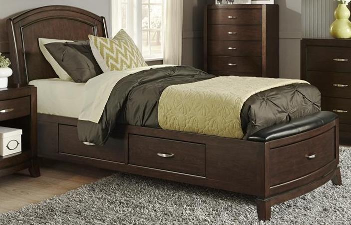 Liberty Furniture | Bedroom Twin One Sided Storage Beds in Hampton(Norfolk), VA 96