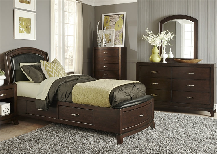 Liberty Furniture | Bedroom Full One Sided Storage 3 Piece Bedroom Sets in  Virginia 122