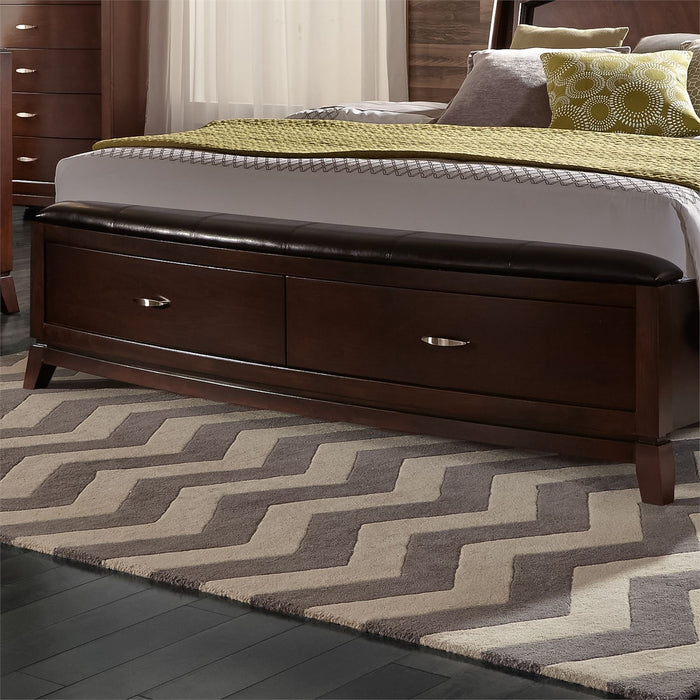 Liberty Furniture | Bedroom King Panel Storage Beds in Winchester, Virginia 8681