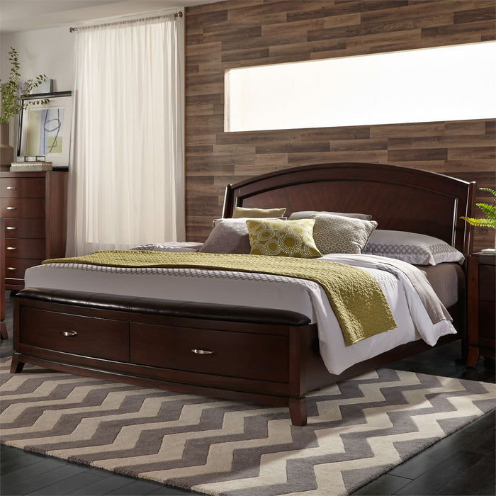 Liberty Furniture | Bedroom King Panel Storage Beds in Winchester, Virginia 1074