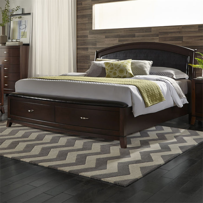 Liberty Furniture | Bedroom King Storage 4 Piece Bedroom Sets in Pennsylvania 1176