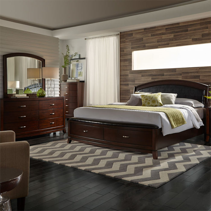 Liberty Furniture | Bedroom King Storage 4 Piece Bedroom Sets in Pennsylvania 1175