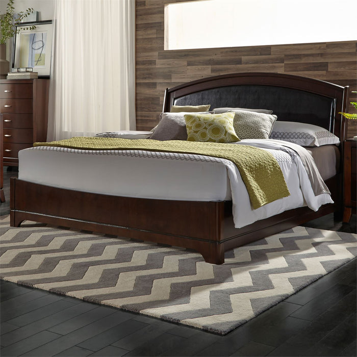 Liberty Furniture | Bedroom Queen Leather Beds in Lynchburg, Virginia 1090