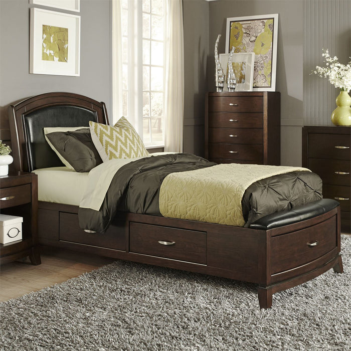 Liberty Furniture | Bedroom Full One Sided Storage 3 Piece Bedroom Sets in  Virginia 3735