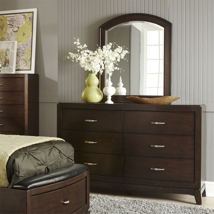Liberty Furniture | Bedroom Full Panel Beds, Dresser & Mirror in Southern MD, MD 3749