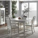 Liberty Furniture | Casual Dining 5 Piece Rectangular Table Sets in Lynchburg, Virginia 12279
