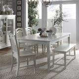 Liberty Furniture | Casual Dining 6 Piece Rectangular Table Sets in Charlottesville, Virginia 12286