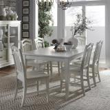 Liberty Furniture | Casual Dining 7 Piece Rectangular Table Sets in Fredericksburg, Virginia 12297