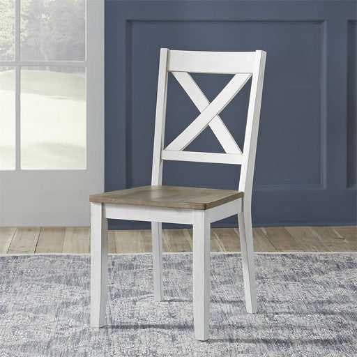 Liberty Furniture | Casual Dining X Back Side Chair- White (RTA) in Richmond,VA 18164