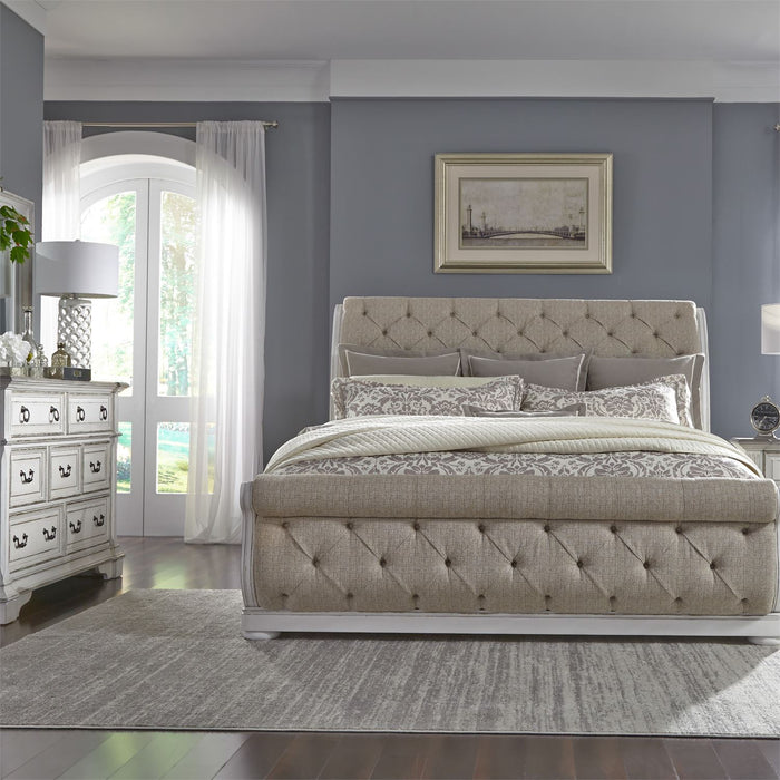 Liberty Furniture | Bedroom Queen Uph Sleigh 3 Piece Bedroom Sets in New Jersey, NJ 3109