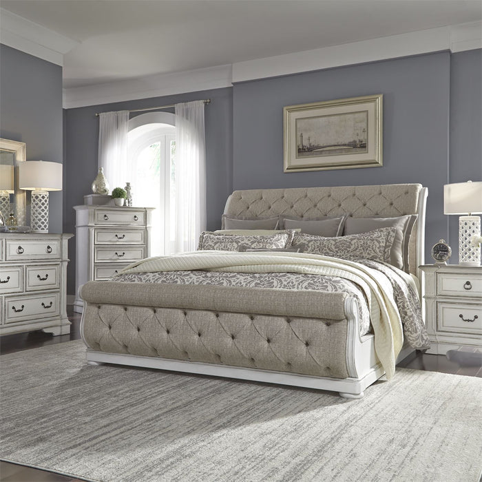 Liberty Furniture | Bedroom Queen Uph Sleigh 5 Piece Bedroom Sets in Pennsylvania 3202