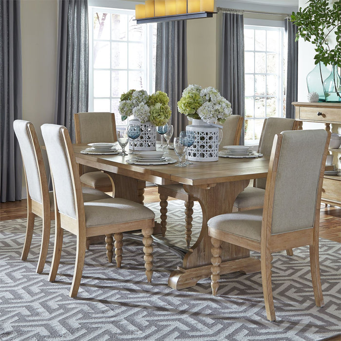 Liberty Furniture | Dining Opt 7 Piece Trestle Table Sets in Frederick, Maryland 10647