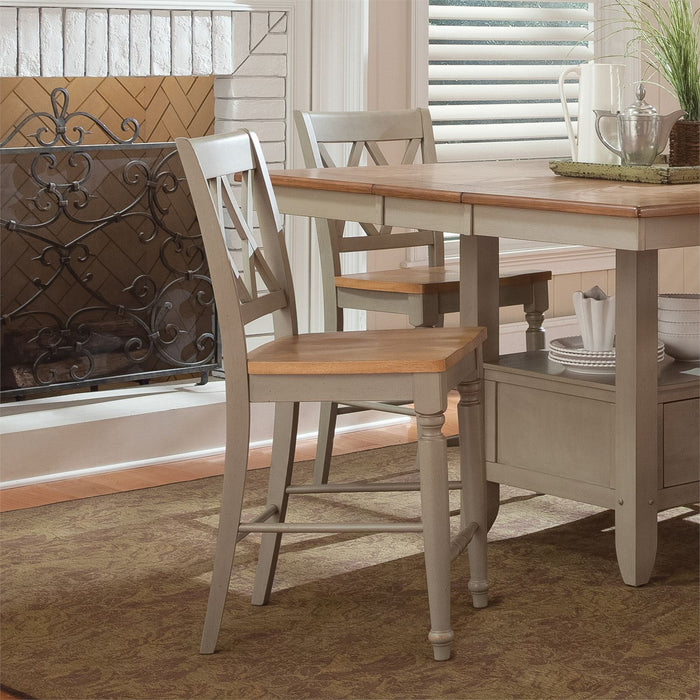 Liberty Furniture | Casual Dining Double X Back Counter Chair in Richmond Virginia 7521