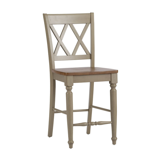Liberty Furniture | Casual Dining Double X Back Counter Chair in Richmond Virginia 7520