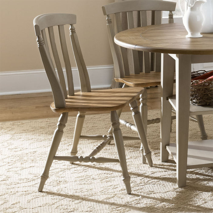 Liberty Furniture | Casual Dining Slat Back Side Chair in Richmond Virginia 7512