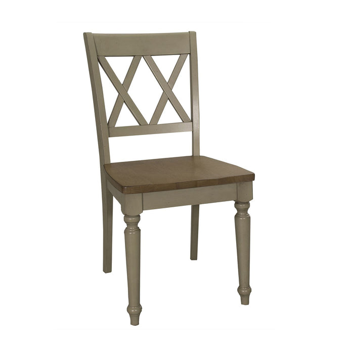 Liberty Furniture | Casual Dining Double X Back Side Chair in Richmond Virginia 7517