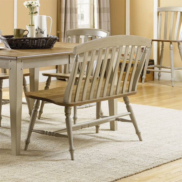 Liberty Furniture | Casual Dining Slat Back Bench in Richmond,VA 7509