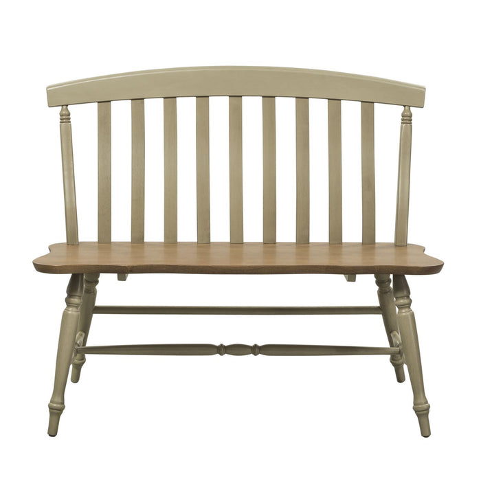 Liberty Furniture | Casual Dining Slat Back Bench in Richmond,VA 7508