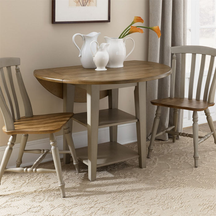 Liberty Furniture | Casual Dining 3 Piece Drop Leaf Set in Richmond Virginia 7540