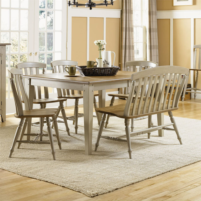 Liberty Furniture | Casual Dining 6 Piece Rectangular Table Set in Lynchburg, VA 7557
