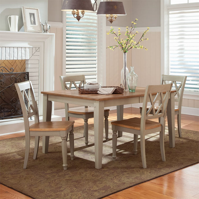 Liberty Furniture | Casual Dining Opt 5 Piece Rectangular Table Set in Winchester, VA 7553