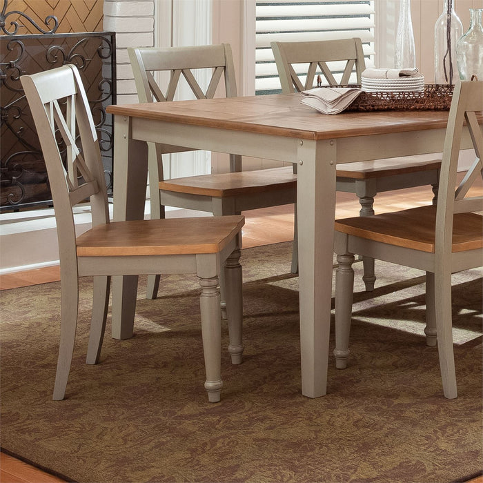 Liberty Furniture | Casual Dining Opt 6 Piece Rectangular Table Set in Richmond,VA 7562