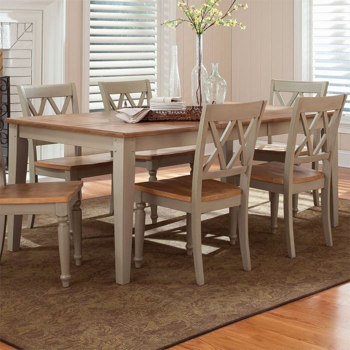 Liberty Furniture | Casual Dining Rectangular Leg Table in Richmond VA 7526