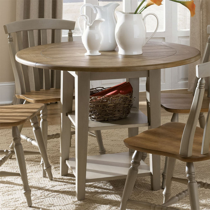 Liberty Furniture | Casual Dining Drop Leaf Leg Table in Richmond Virginia 7532