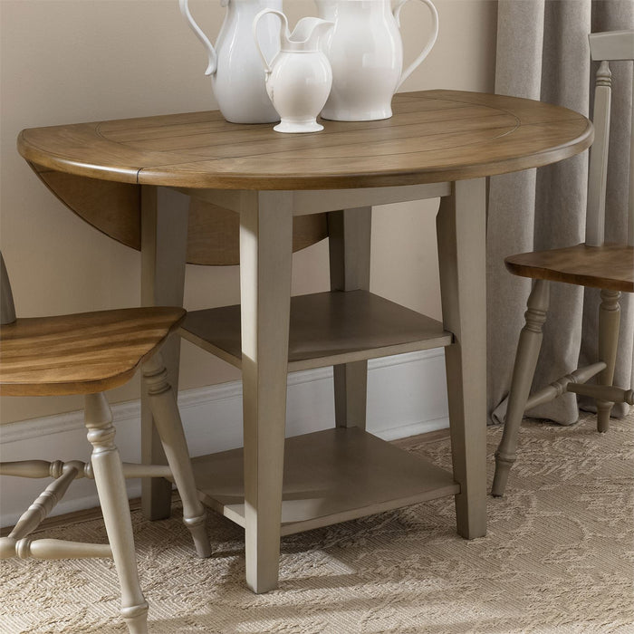 Liberty Furniture | Casual Dining Drop Leaf Leg Table in Richmond Virginia 7531