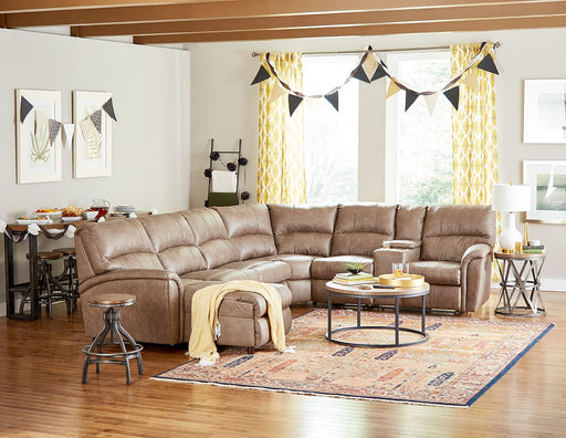 Lane Furniture | Living Recliner Power 4 Piece Sectional in Pennsylvania 846