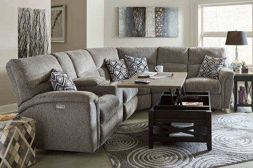 Lane Furniture | Living Recliner Power 3 Piece Sectional in Pennsylvania 869