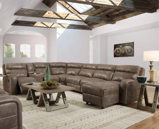 Lane Furniture | Living Recliner Power 4 Piece Sectional in New Jersey, NJ 961