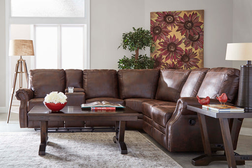 Lane Furniture | Living Recliner Power 3 Piece Sectional in New Jersey, NJ 1051