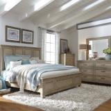Liberty Furniture | Bedroom King Panel 4 Piece Bedroom Sets in Pennsylvania 2499