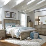 Liberty Furniture | Bedroom King Panel 5 Piece Bedroom Sets in Pennsylvania 2517