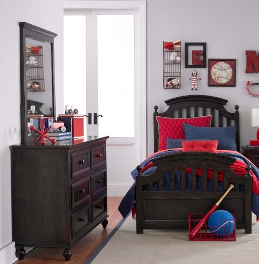 Legacy Classic Furniture | Youth Bedroom Twin Panel Bed 3 Piece Bedroom Set in Frederick, Maryland 10006