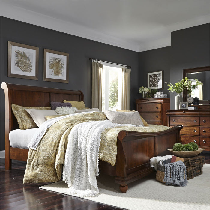 Liberty Furniture | Bedroom King Sleigh 4 Piece Bedroom Sets in Pennsylvania 9556