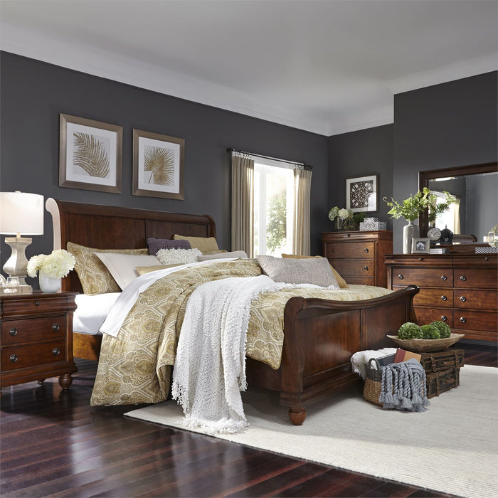 Liberty Furniture | Bedroom Queen Sleigh 5 Piece Bedroom Sets in Pennsylvania 9592
