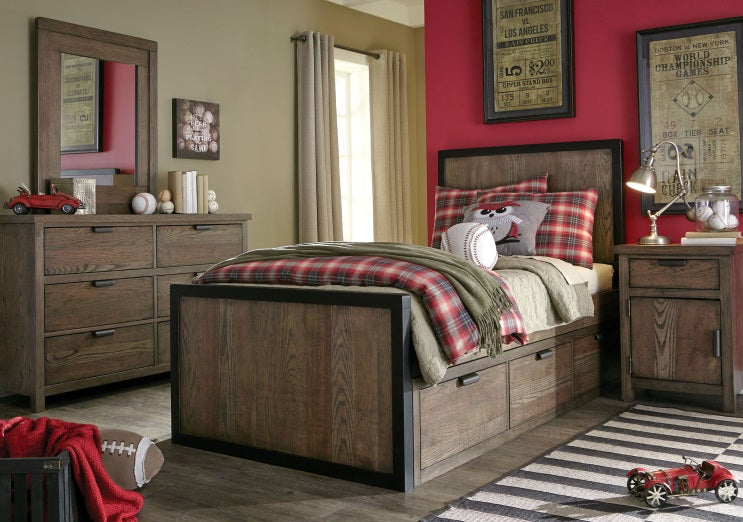 Legacy Classic Furniture | Youth Bedroom Panel Bed Full 3 Piece Bedroom Set in Lynchburg, Virginia Baltimore, Maryland 10616
