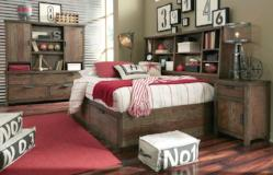 Legacy Classic Furniture | Youth Bedroom Bookcase Lounge Bed Full 3 Piece Bedroom Set in Pennsylvania 10597