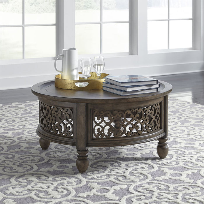 Liberty Furniture | Occasional Round Cocktail Table in Richmond Virginia 8341