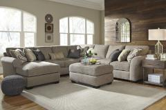 Ashley Furniture | Living Room 5 Piece Sectional With Left Chaise And Oversized Accent Ottoman in Pennsylvania 7400
