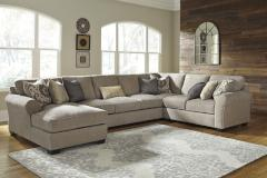 Ashley Furniture | Living Room 5 Piece Sectional With Left Chaise in Pennsylvania 7463